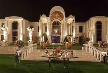100 مورد باغ عروسی